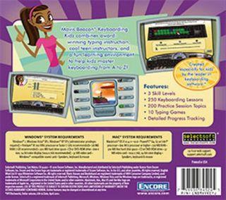 Mavis Beacon Keyboarding Kidz New XP Vista Win 7 SEALED