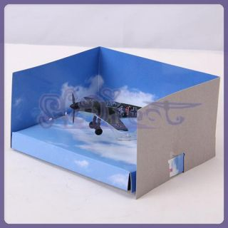 Kids Education WWII Military 1 100 Messerschmitt Me 109 Airplane
