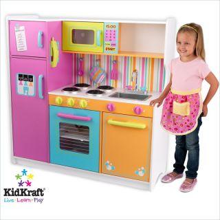 KidKraft Deluxe Big Bright Kids Play Kitchen