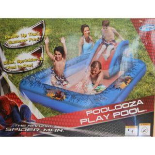 Swim Ways Spiderman Poolooza Play Pool Inflatable Swimming Spider Man