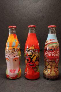Coca Cola Coke Italy 50th Sibeg 3 Bottles Set