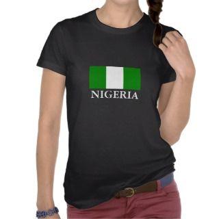 NIGERIAN FLAG TEE SHIRTS