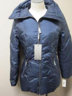 Andrew Marc Down Hunter Clo Jacket Coat s Navy $260
