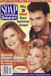 Robert Kelker Kelly Kim Zimmer Lynn Herring April 28 1992 Soap Opera