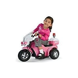 Girls Kids Electric Battery Power Ride on Wheels Motorcycle Pink Bike