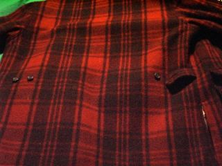 Polo Wool Coat Perfect Condition Real Sheep Skin Lining Size 46 Long
