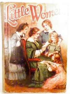 1926 Little Women Book Louisa May Alcott Saalfield Publishing Vintage