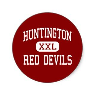 Huningon   Red Devils   Middle   Huningon Round Sicker