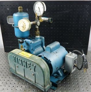 M95121 Kinney Model KC 3 KC3 High Vacuum Pump