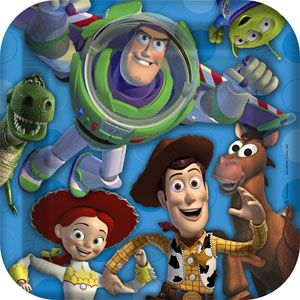 Kids Birthday Party Supplies Toy Story 3 Theme