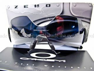 New Oakley Zero L Sunglasses RARE Matte Black Grey