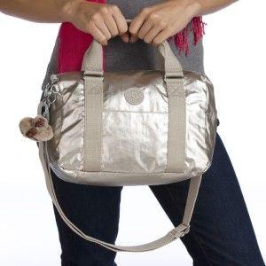 Kipling Caska Handbag Shoulder Cross Body Bag Shady Grey