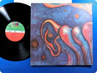 King Crimson NM Wax in The Court of The Crimson King Japan OBI LP