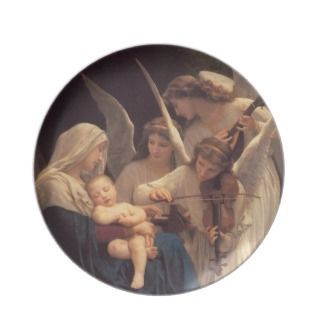 The Song of The Angels Decorative Christmas Plate