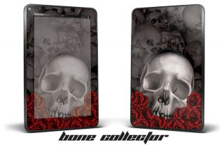 Kindle Fire Skin Decal Cover Sticker 7 inch Reader Tablet Bones