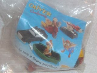 Burger King Toy Oliver Co Francis Fagan Georgette