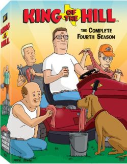 King of The Hill Season 4 New SEALED 3 DVD Set