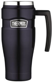 Thermos Stainless King 16 Ounce Leak Proof Travel Mug with Handle