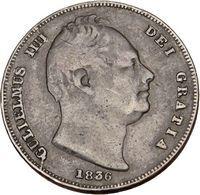 William IV Farthing United Kingdom Britain Authentic Coin 1836