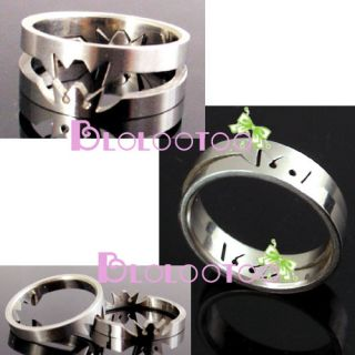 Anime Crown Steel Love Lover Kingdom Hearts Ring New