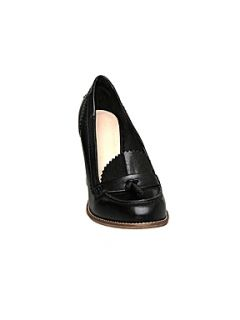 Bertie Bari loafer court shoes Black