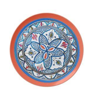 Hand Painted Design Spanish Talavara Plates