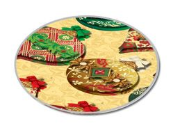 Christmas Ornaments 3D Gold Christmas Stickers New