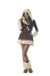 Sexy Eskimo Kisses Winter Adult Halloween Costume