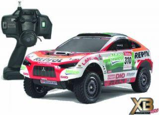 New Tamiya RC Radio Control Car 1 10 XB Repsol Mitsubishi Racing