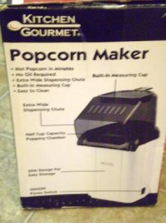 Kitchen Gourmet Popcorn Popper Design Ideas