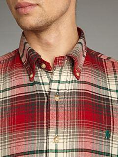 Polo Ralph Lauren Long sleeved plaid shirt Red