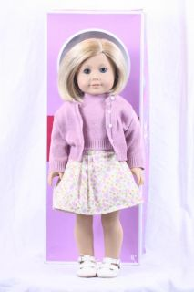 Mint wBox American Girl Kit Kittredge Doll Depression Era Blonde Bob