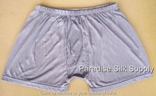 6P Knit Silk Mens Briefs Boxer Underwear L 28 35