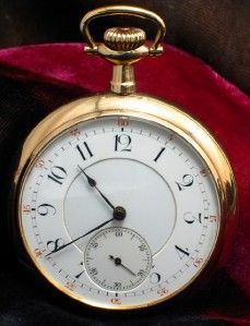Impressive High Grade Kirkpatrick PL Agassiz or LeCoultre Pocket Watch