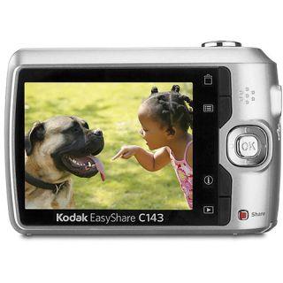 Kodak EasyShare C143 12MP Camera Silver 8GB Kit New