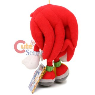 Sega Sonic Knuckles 10 Plush Doll Sonic The Hedgehog GE Original