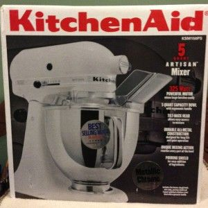 Kitchen Aid Artisan Stand Mixer Model KSM150PS Brand New in The Box