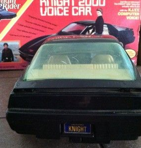 Vintage Knight Rider Kitt 2000 Talking Voice Car in Box