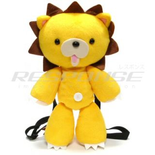 Bleach Kon Plush Backpack Yellow Lion Back Pack Japanese Anime Manga