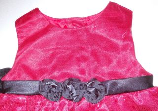 New Baby Girls Red Holiday Koala Kids Dress with Shrug Size 24 Months