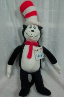 Kohls Dr Seuss Cat in The Hat 21 Plush Stuffed Animal Toy New