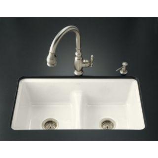 kohler undermount cast iron kitchen sink
