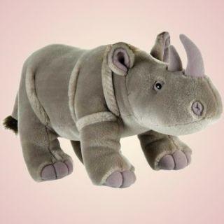 Fiesta Toys Plush 14 Standing Gray Rhino New