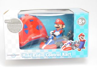 24 Super Mario Kart Mini Remote Control Car Wii Nintendo