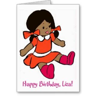 African American Birthday Greeting Cards, Note Cards and African