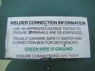 Miller Goldstar DC Arc Welder 300SS