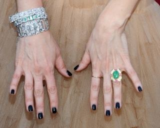 HOLLYWOOD CLASSIC COLOMBIAN EMERALD BLING OF THE YEAR, 28.46 CARATS