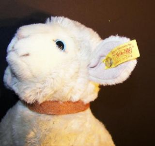 Steiff Knopf Im Ohr Lambie Lamb Plush Stuffed Toy