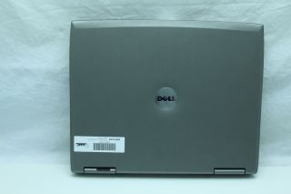 Dell Latitude D505 Laptop Pentium M 1 5GHz 30GB 512MB XP 3 DVD CDRW