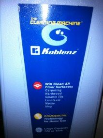 Koblenz P 820 P820 Floor Scrubber Buffer Shampooer Polisher